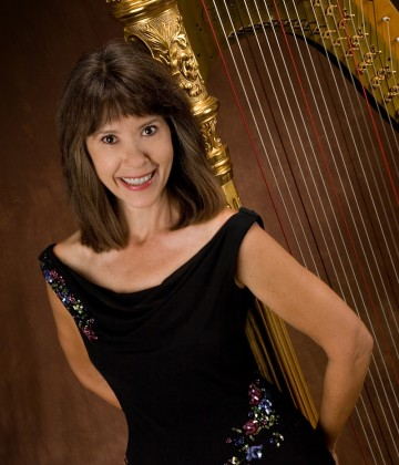 Harpist Catherine Way from Hart Strings Inc
