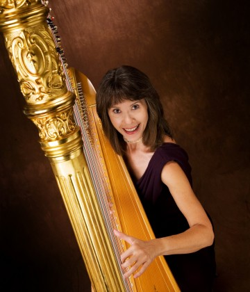 Professional Harpist Catherine Way