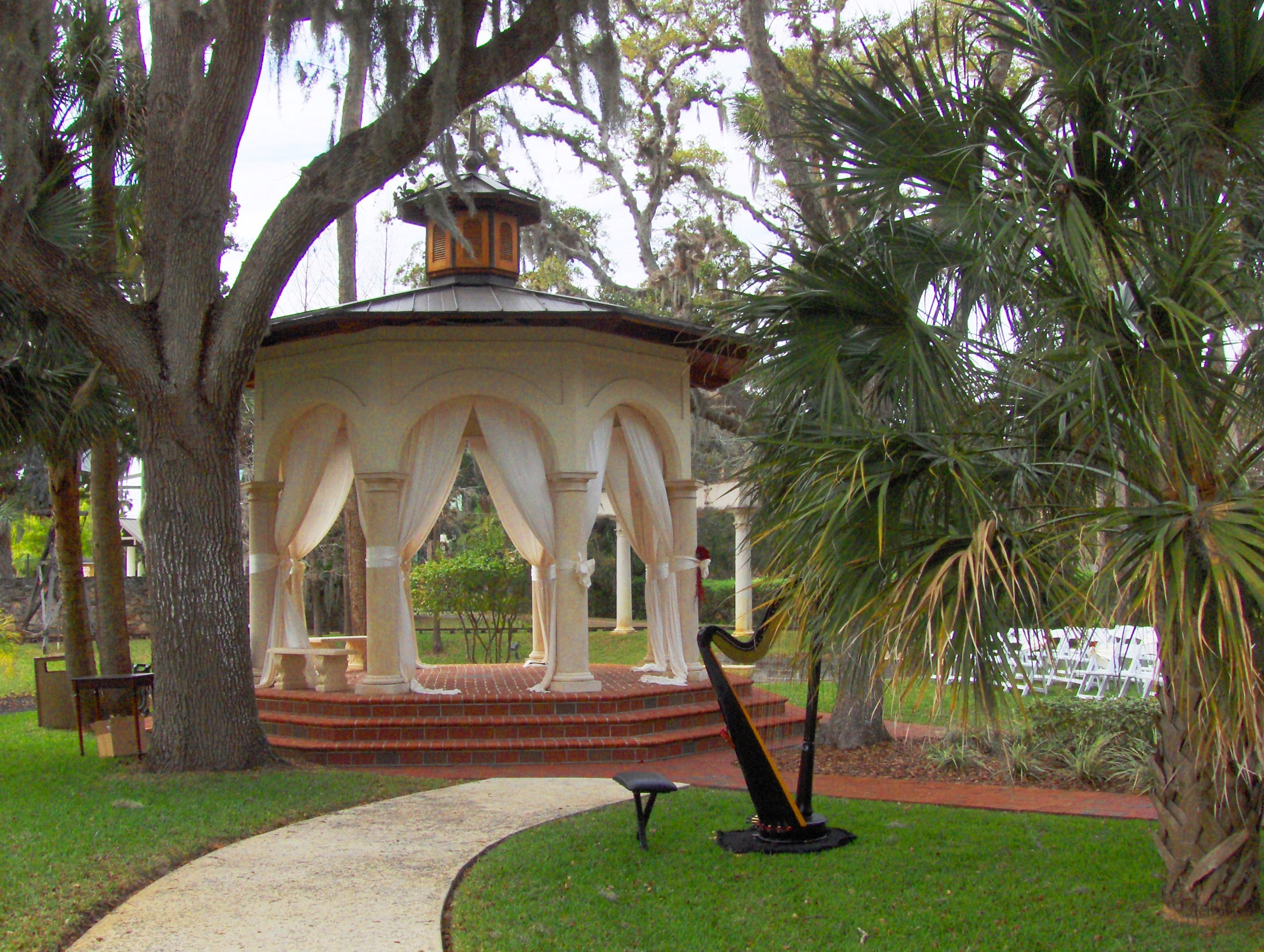 Photo Of Tavern Chapel Gazebo With Harp