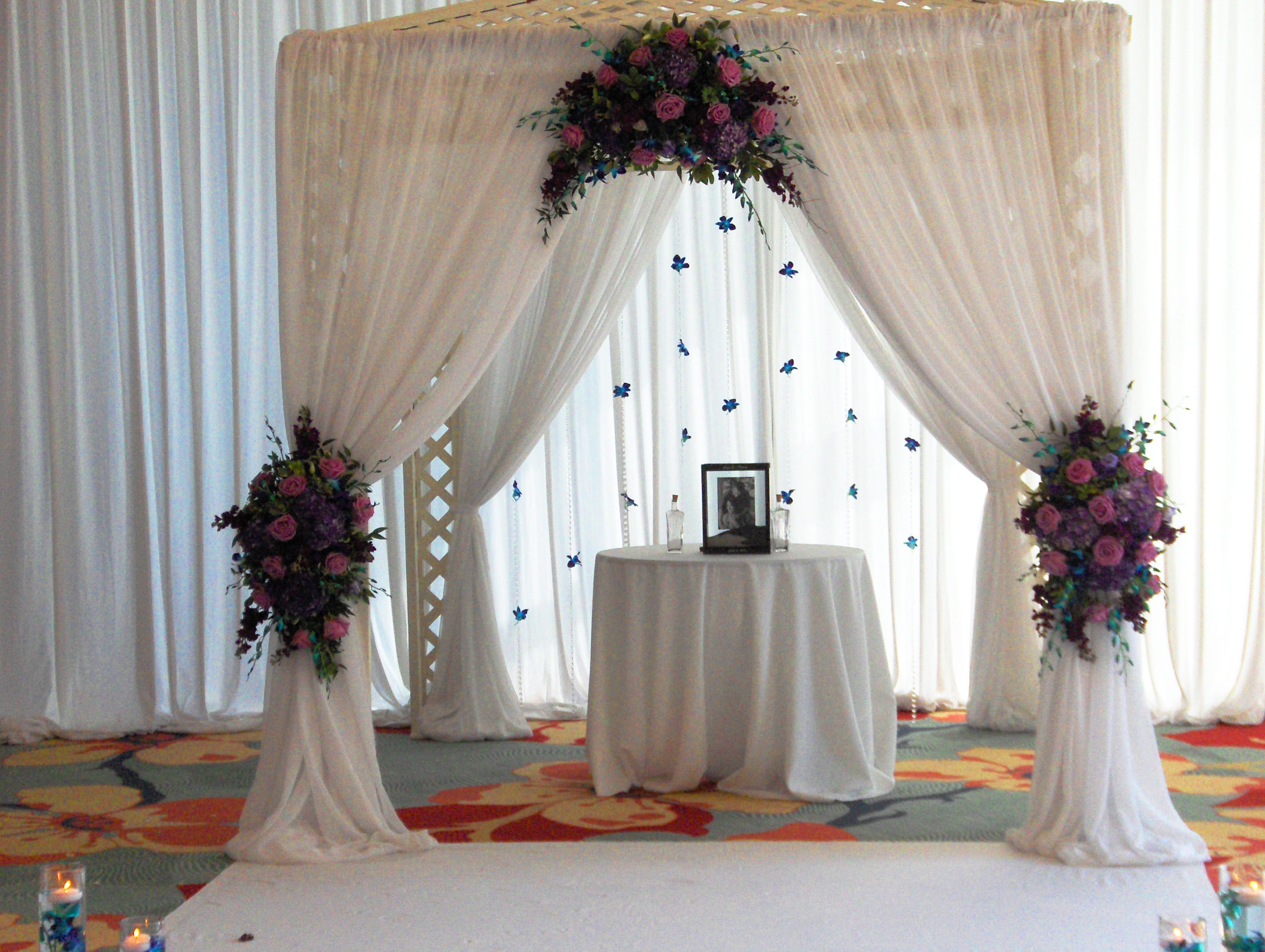 Canopy Wedding Decoration Chuppah Ideas